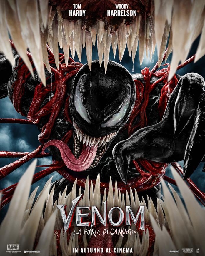 La locandina di Venom - La furia di Carnage