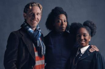 gli attori della famiglia Granger-Weasley in Harry Potter and the Cursed Child