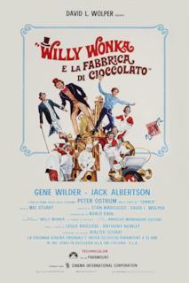 Poster Willy Wonka e la fabbrica di cioccolato
