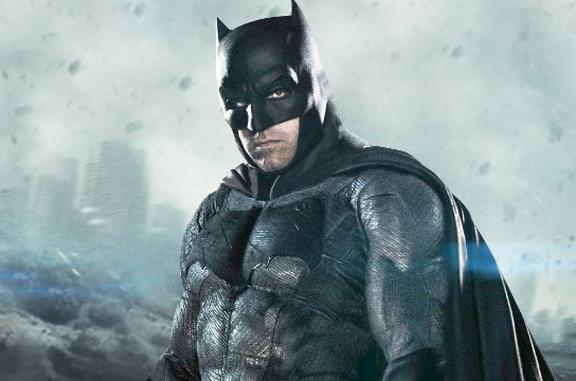 Batman in primo piano