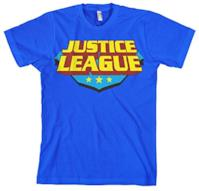 Justice League Licenza Ufficiale Classic Logo (Blu), X-Large