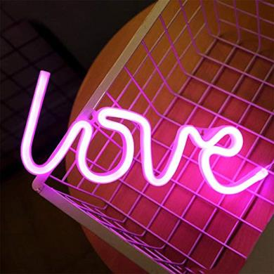 Pink Love Night Lights Led Neon Signs