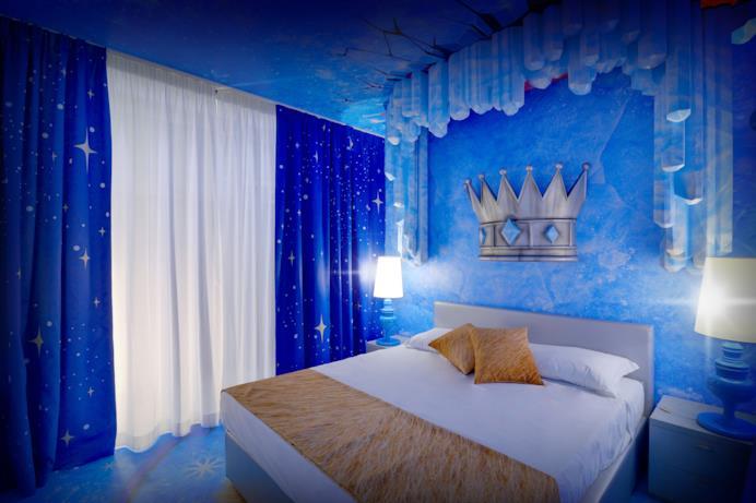 Stanze Cristallo Magico per adulti - Gardaland Magic Hotel