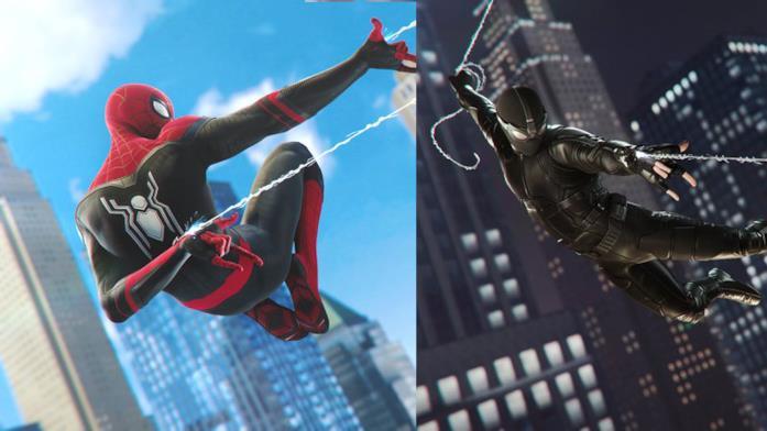 I due nuovi costumi (Upgraded Suit e Stealth Suit) disponibili in Marvel's Spider-Man per PS4