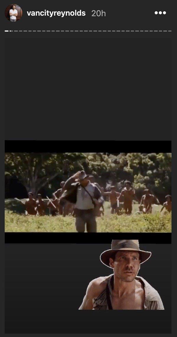 Deadpool 2: Ryan Reynolds rivela l'omaggio a Indiana Jones