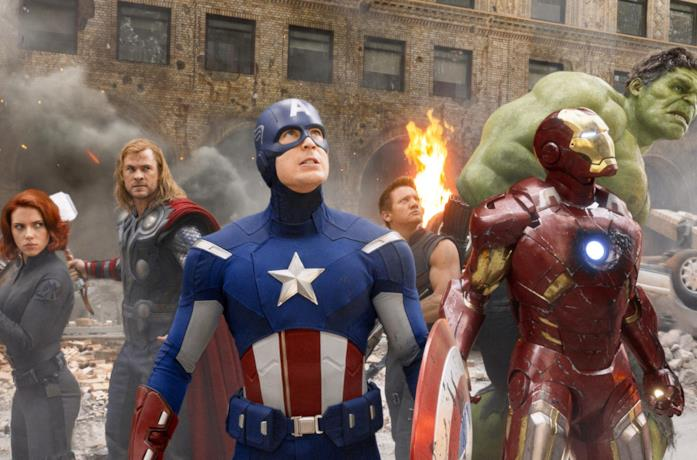 I sei Vendicatori originali in un'immagine di The Avengers