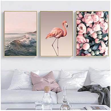 Scene quadri su tela dipinti nordici poster stampe camera da letto decorazione casa 50 x 70 cm senza cornice