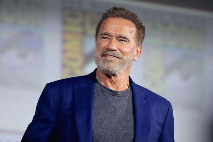 Arnold Schwarzenegger al Comic-Con di San Diego
