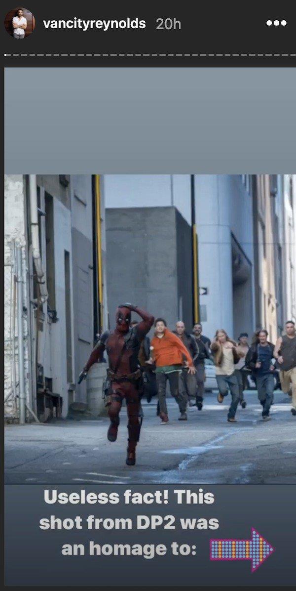 Deadpool 2: Ryan Reynolds mostra l'omaggio a Indiana Jones