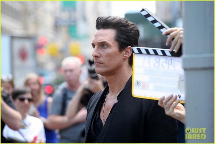 Matthew McConaughey ciack del film