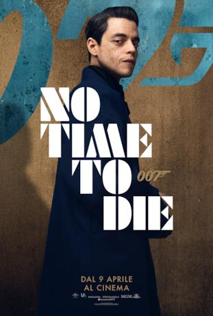 Rami Malek - poster di No Time To Die