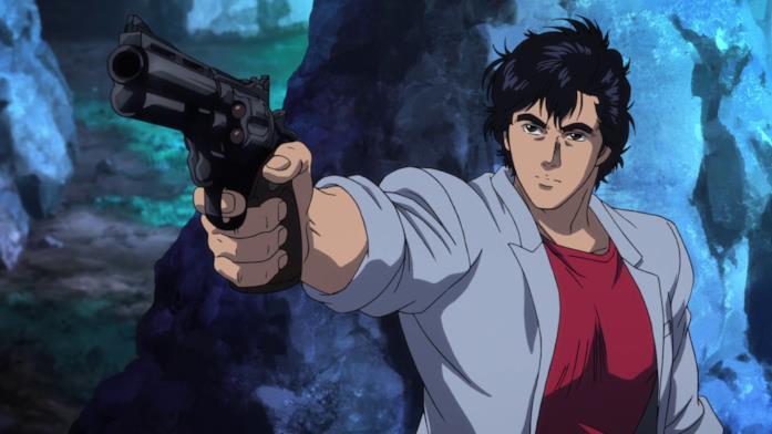 Ryo Saeba pistola