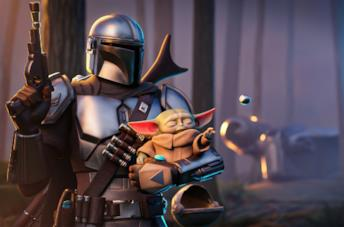 L'armatura di The Mandalorian in Fortnite Stagione 5