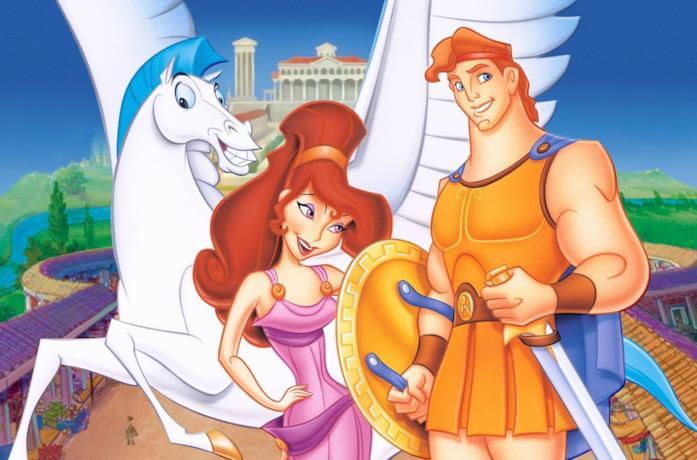 Una scena di Hercules 1997
