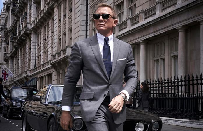 Daniel Craig in un'immagine ufficiale di Bond 25