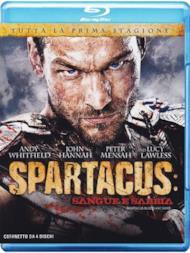 Spartacus Stg.1 Sangue E Sabbia (Box 4 Br)