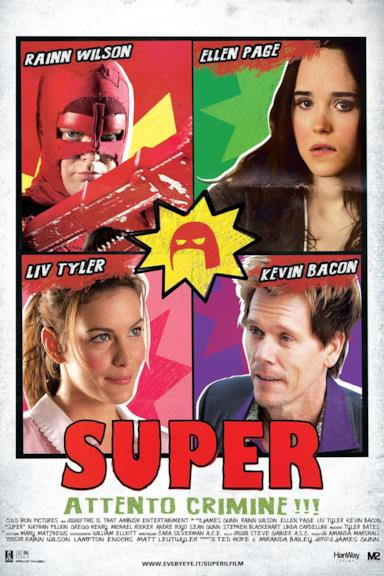 Poster Super - Attento crimine!!!