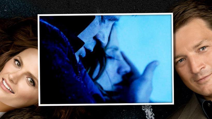 6) Beckett e Castle quasi muoiono assiderati.