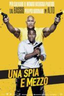 Poster Una spia e mezzo
