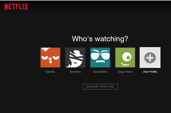Immagine promozionale di Netflix