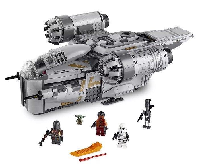 Set LEGO dell'astronave del Mandaloriano