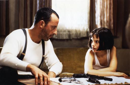 Natalie Portman con Jean Reno