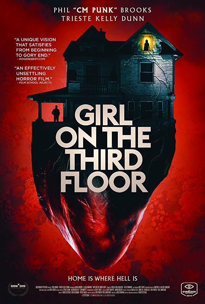 Il poster del film Girl on the Third Floor