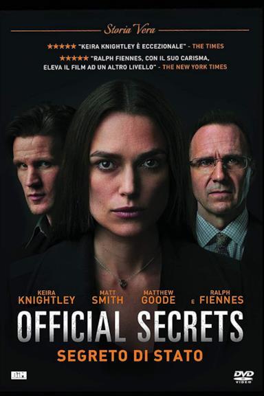 Poster Official Secrets – Segreto di stato
