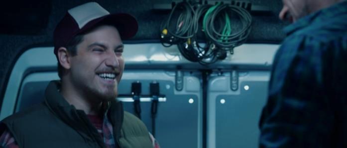 Gary ride quando vede Tony Stark
