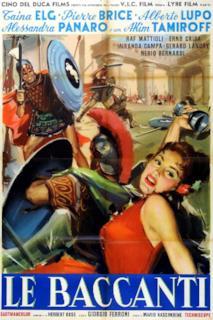 Poster Le baccanti