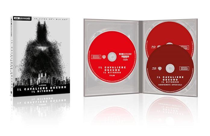 Copertina del cofanetto Blu-ray de Il Cavaliere Oscuro - Il Ritorno
