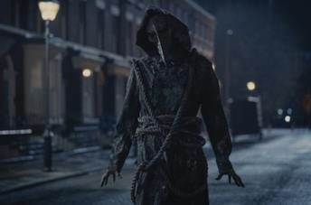Il medico della peste ne Gli irregolari di Baker Street