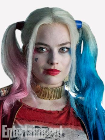 Il character poster di Harley Quinn (Margot Robbie) in Suicide Squad