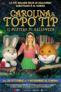 Poster Carolina e Topo Tip - Il mistero di Halloween