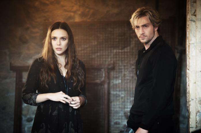 Elizabeth Olsen e Aaron Taylor-Johnson sono Wanda e Pietro Maximoff in Avengers: Age of Ultron