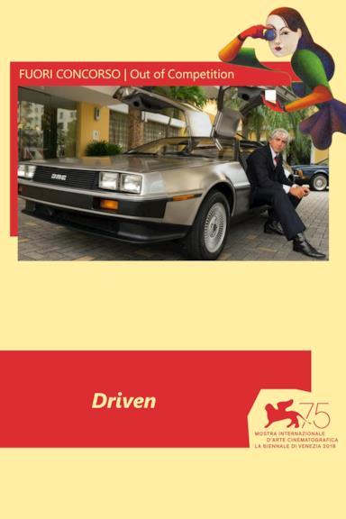 Poster Driven - Il caso DeLorean