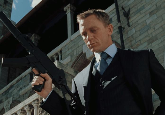 Craig in una scena di Casino Royale