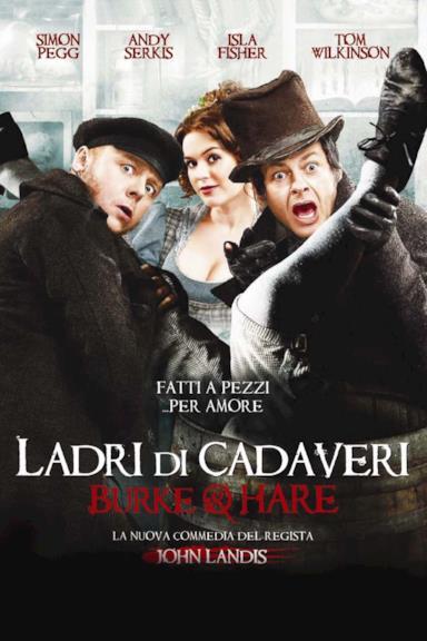 Poster Ladri di cadaveri - Burke & Hare