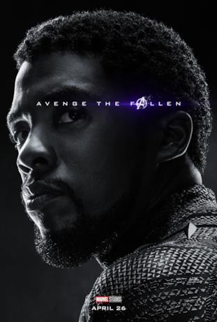 Avenger the fallen, i caduti: Black Panther