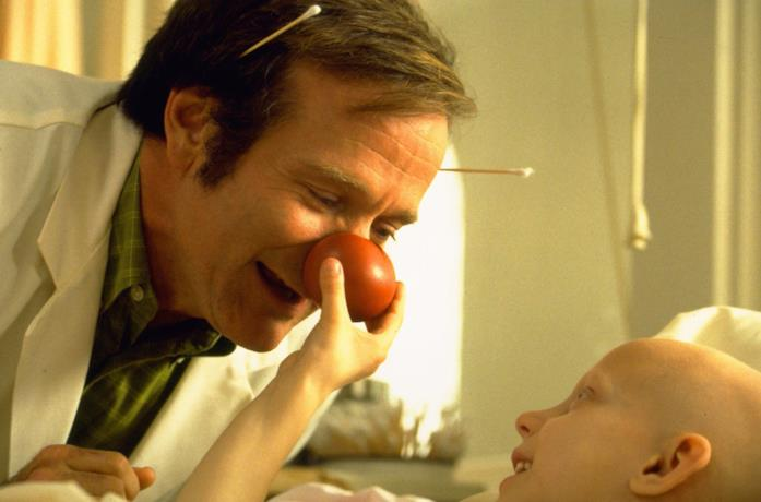 Robin Williams nel film Patch Adams