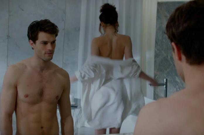 La scena in bagno di Cinquanta sfumature di grigio