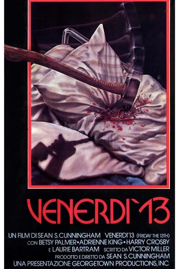 La locandina di Venerdì 13 del 1980