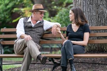James Spader e Megan Boone in una scena di The Blacklist