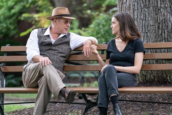 James Spader e Megan Boone in una scena di The Blacklist
