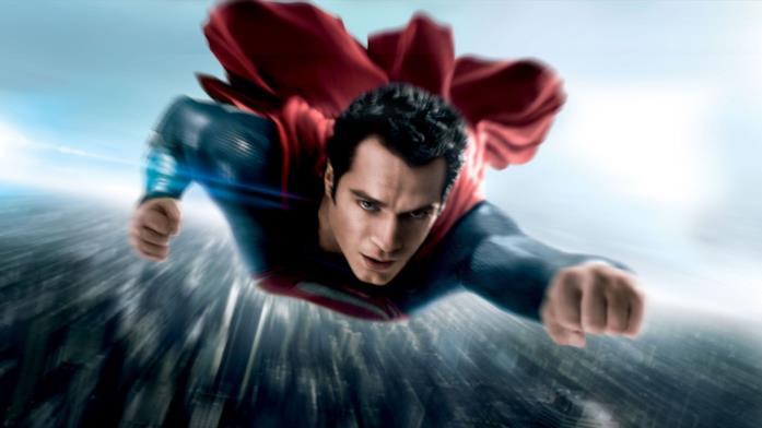 Henry Cavill è Superman in L'uomo d'acciaio