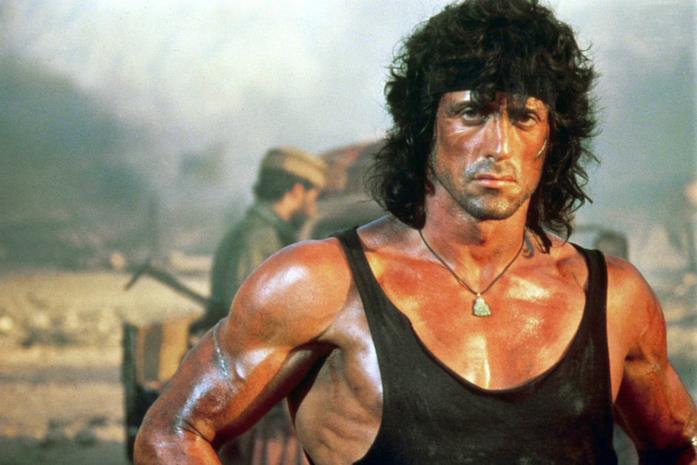 Sylvester Stallone in Rambo