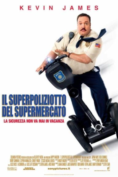 Poster Il superpoliziotto del supermercato