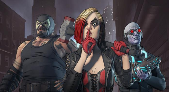 Harley Quinn in Batman: The Enemy Within