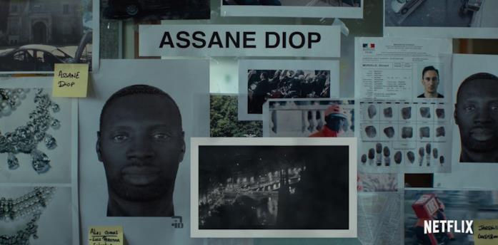 Lupin, parte 2: Assane Diop è ora ricercato