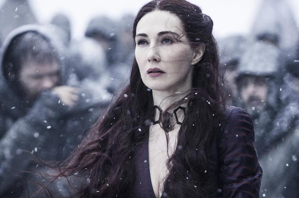 Carice van Houten in una scena di Game of Thrones
